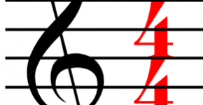 What does 4/4 mean and what is a time signature?